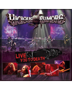 VICIOUS RUMORS - Live You To Death / CD