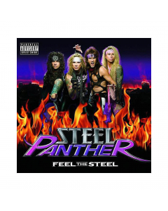 Steel Panther album cover Feel The Steel