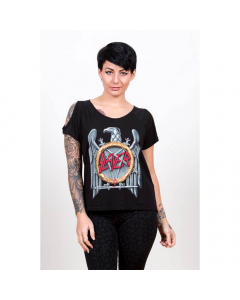 Silver Eagle Women's Cut-out Tee