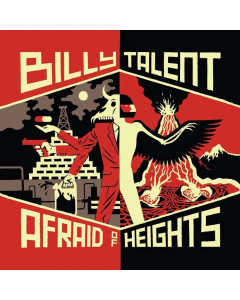 billy talent afraid of hiehts cd