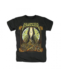 32262 killswitch engage lady and the snake t-shirt
