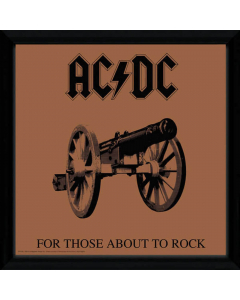 33070 ac_dc for those about to rock framed album cover