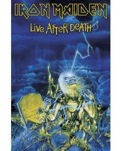 iron maiden - live after death - flagge