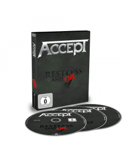 40975-1 accept restless and live dvd and 2-cd heavy metal