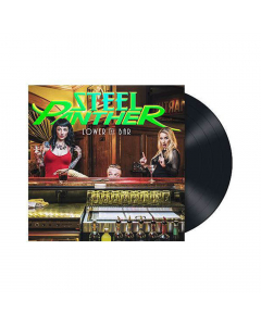 Steel Panther Lower The Bar Black LP