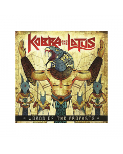 41771 kobra and the lotus words from the prophets coloured 10'' mlp heavy metal