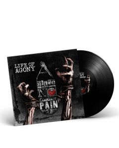 42067 life of agony a place where there's no more pain black lp groove metal