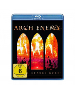 arch enemy as the stages burn blue ray