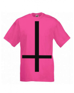 HEAVY METAL HAPPINESS - Inverted Cross / T-Shirt
