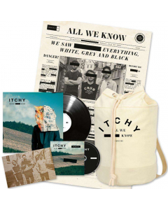 ITCHY - All We Know / BOX LP