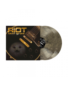 Army Of One CLEAR BLACK MARBLED 2-LP