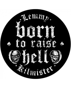 Born To Raise Hell / Backpatch