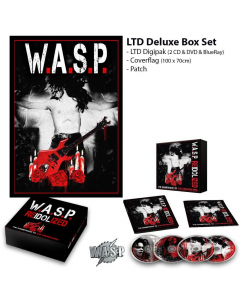 44983-1 w.a.s.p. re-idolized (the soundtrack to the crimson idol) deluxe box heavy metal