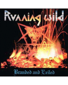 RUNNING WILD - Branded And Exiled - Expanded Version / Digipak CD