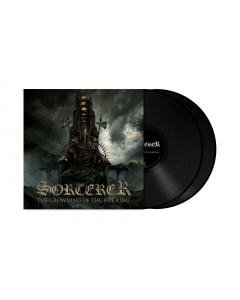 SORCERER - The Crowning Of The Fire King / BLACK 2-LP