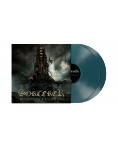 SORCERER - The Crowning Of The Fire King / CLEAR TURQUOISE BLUE 2-LP