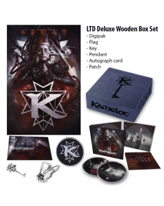 48425-1 kamelot the shadow theory wooden box power metal