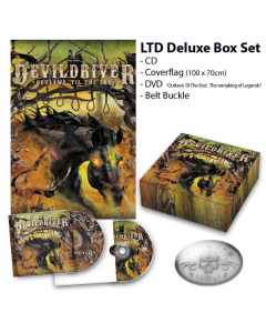 49813 devildriver outlaws 'til the end vol. 1 deluxe box groove metal