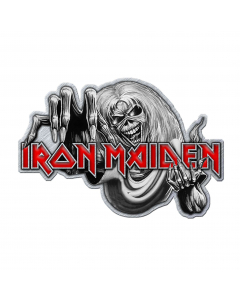 IRON MAIDEN - Number Of The Beast / Metal Pin Badge
