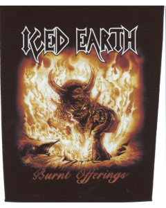 iced earth burnt offerint backpatch