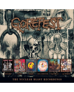 GOREFEST - The Nuclear Blast Recordings / 6-CD BOX