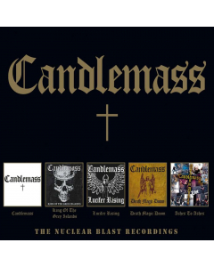 52529 candlemass the nuclear blast recordings 5-cd box doom metal