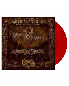 """FRAGMENTS OF UNBECOMING / DECEMBER FLOWER - Imperial Anthems No. 16 / RED 7"""" E.P."""