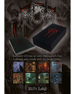 MANEGARM - The Collection / CD Box