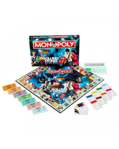 THE ROLLING STONES - Monopoly Collector's Editon / Board Game