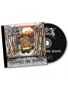 SISTERS OF SUFFOCATION - Humans are Broken / CD