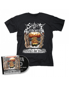 SISTERS OF SUFFOCATION - Humans are Broken / CD + T- Shirt Bundle
