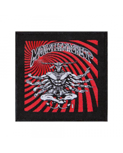 monster magnet 8 arms bullgod patch