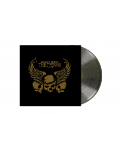 the crown crowned unholy clear black marbled vinyl