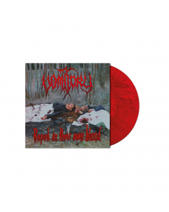 Raped In Their Own Blood RED BLACK Marbled LP