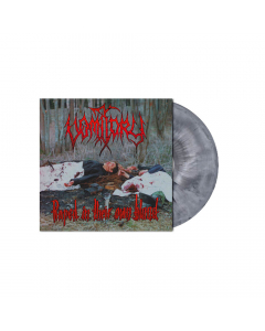 Raped In Their Own Blood SILVER GREY BLACK Marbled LP