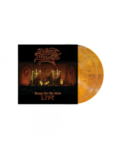 Songs for the Dead Live TRANSPARENT AMBER Marbled 2-LP Gatefold