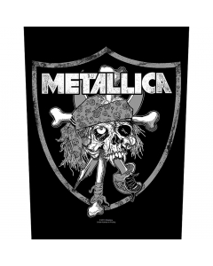 Raiders Skull Backpatch