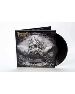 DESERTED FEAR - Drowned By Humanity / BLACK LP Gatefold