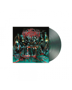 VOMITORY - Blood Rapture / CLEAR TROPICAL-GREEN BLACK Marbled LP
