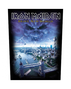 iron maiden brave new world backpatch