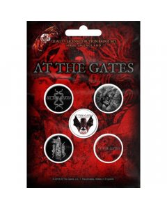 at the gates to drink from the night itself button badge pack