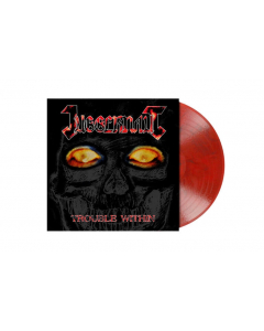 JUGGERNAUT - Trouble Within / RED/BLACK Marbled LP