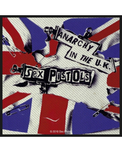 sex pistols anarchy in the uk patch
