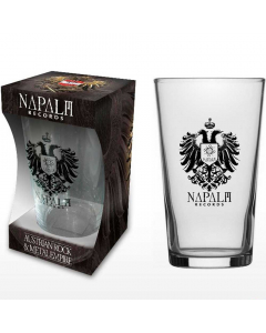 napalm records - eagle - beer glass