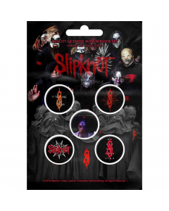 slipknot we are not your kind button set