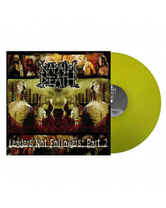 napalm death - leaders not followers pt 2- yellow lp - napalm records