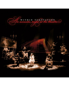 within temptation - an acoustic night at the theatre - red black marbled lp - napalm records