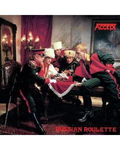 accept - russian roulette - gold black swirled lp - napalm records