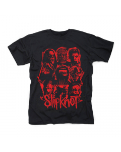 slipknot we are not your kind red patch shirt