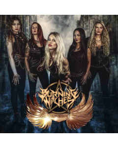 burning witches wings of steel